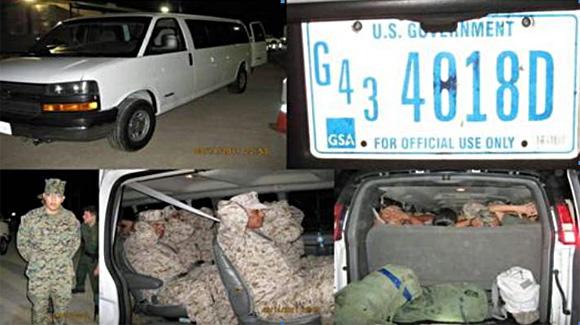 Invaders disguised as Marines
